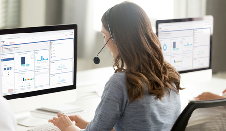 Enhance agent and customer experiences by integrating our CCaaS solution with Salesforce CRM software